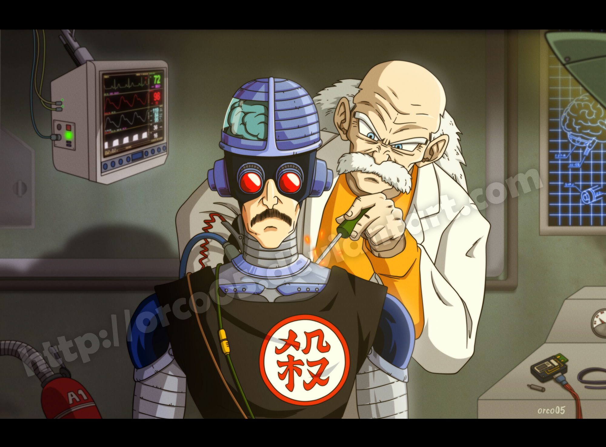 Tao Pai Pai - cyborg creation