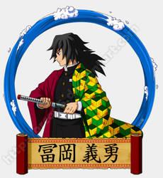 Kimetsu no Yaiba - Tomioka Giyuu