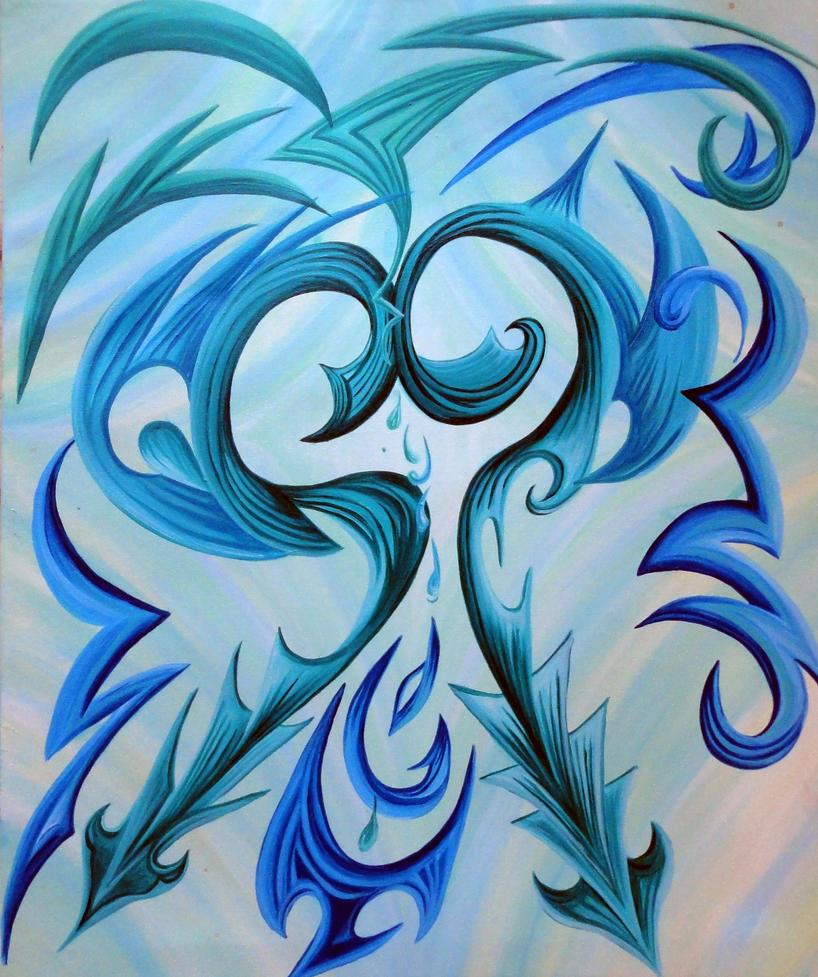 tribal heart by kilaarts
