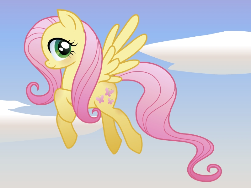 Fluttershy by NunaChan on DeviantArt
