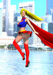 Supergirl by borgking001a