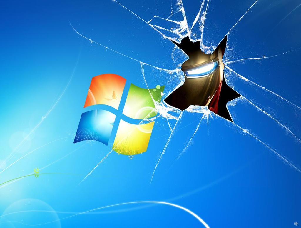 Iron Man Windows 7 Wallpaper By TigerSoul6