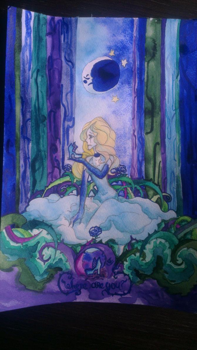 Cinderella Lost Her Shoe By LadyPurplesfinx On DeviantArt