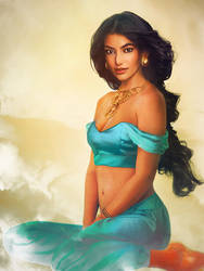 'Real Life' Princess Jasmine