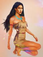 'Real Life' Pocahontas by JirkaVinse
