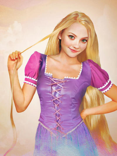 Desenhos das Princesas Disney __real_life___rapunzel_by_jirkavinse-d4hkoc9