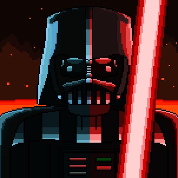 Darth Vader Pixel Art By Superhypersonic2000 On Deviantart