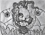 Robot Princess Luna Sketch
