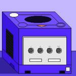 Nintendo GameCube (pixel art)