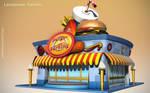 Cartoon Snack Bar