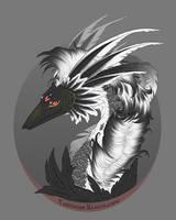 Feathered wyvern. - 2017 by Polunoch