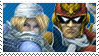 Blue Team Stamp: Sheik + C.F by Arcticwaters