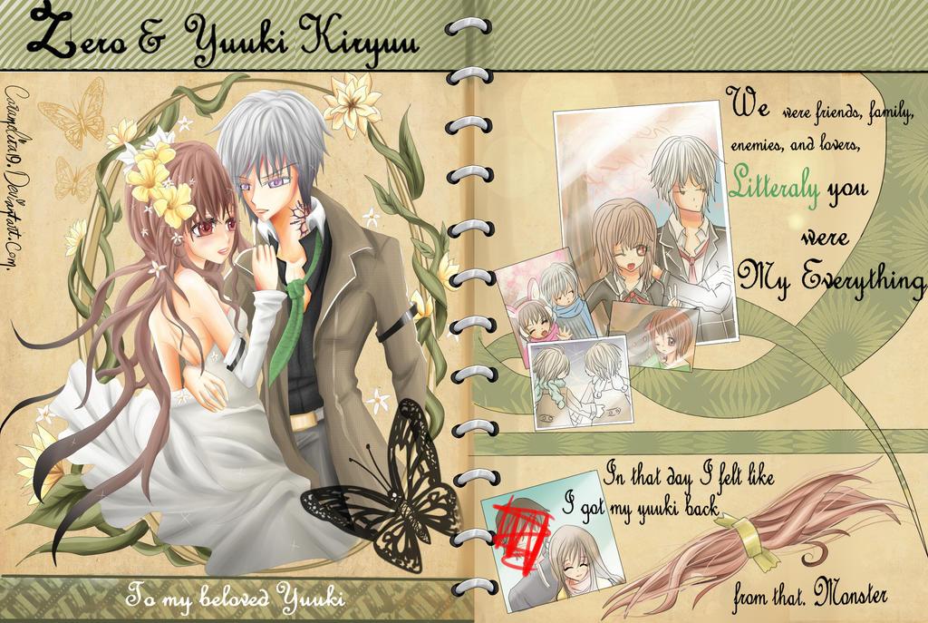 zero's scrapbook to yuuki by YiiChan
