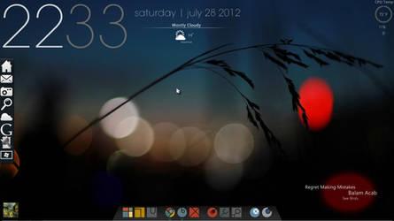 desktop screenshot [minimalism] by fulllfrontal