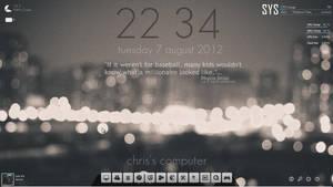 desktop screenshot [city lights]