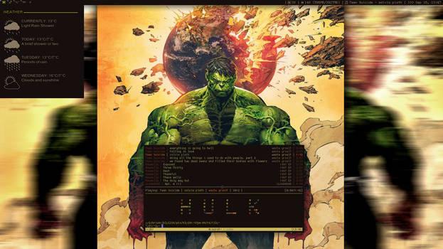H U L K by fulllfrontal