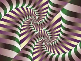 Harlequin Spiral by FractalEve