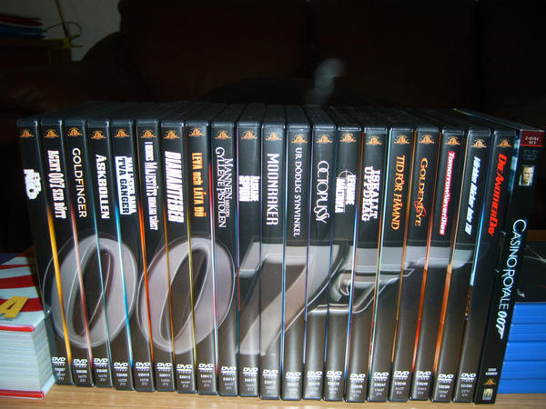 James Bond Collection again by EgonEagle