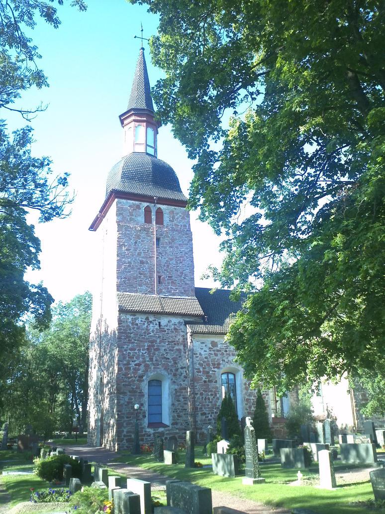 Jomala Church by EgonEagle
