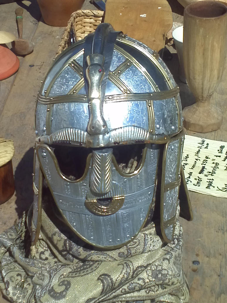 Viking helmet by EgonEagle