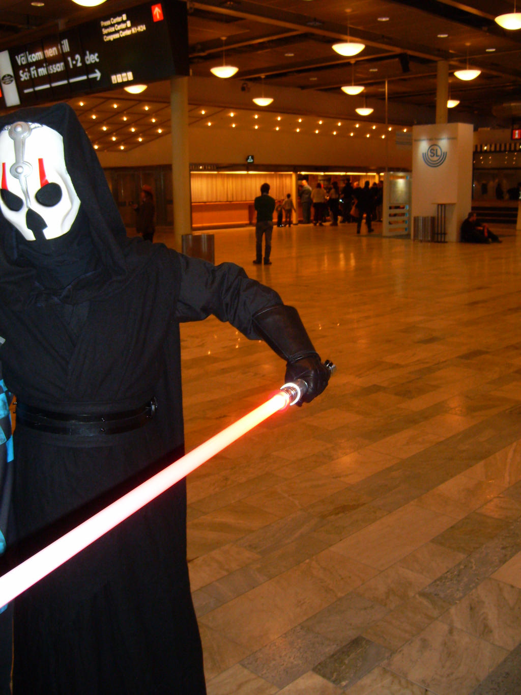 Sith Lord by EgonEagle