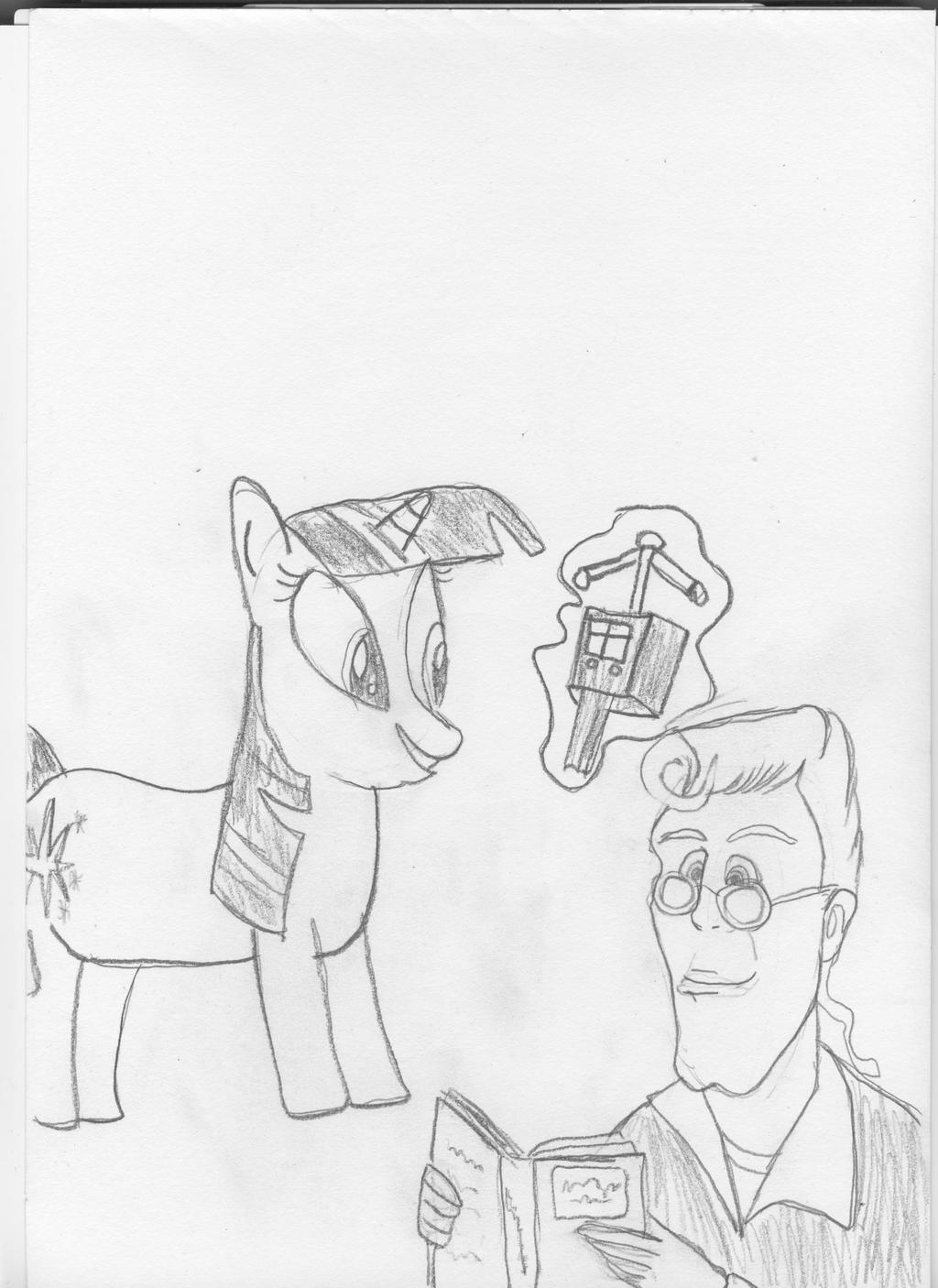 Twilight and Egon by EgonEagle