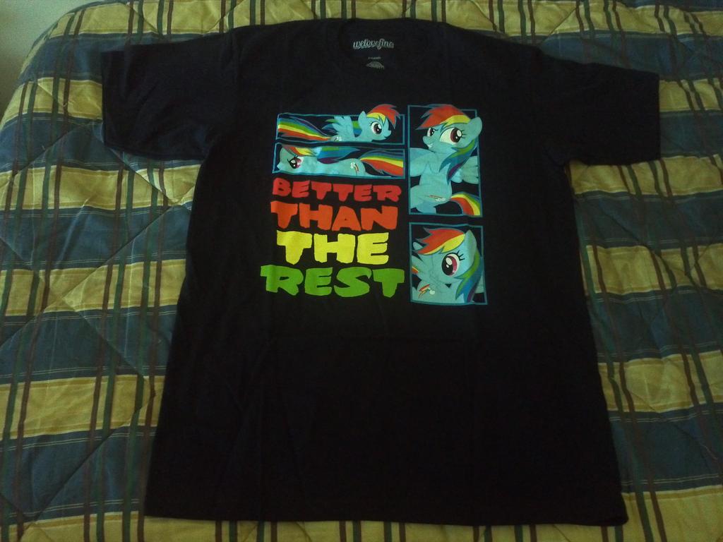 Rainbow Dash t-shirt by EgonEagle