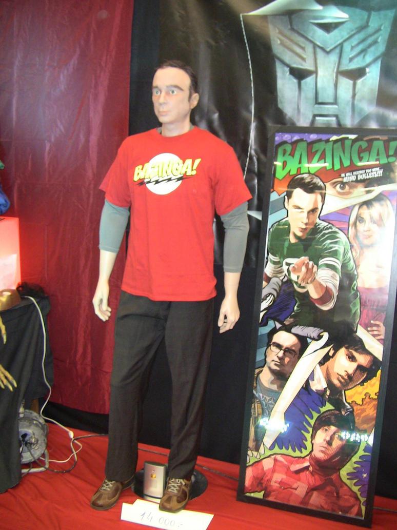 Sheldon Cooper by EgonEagle