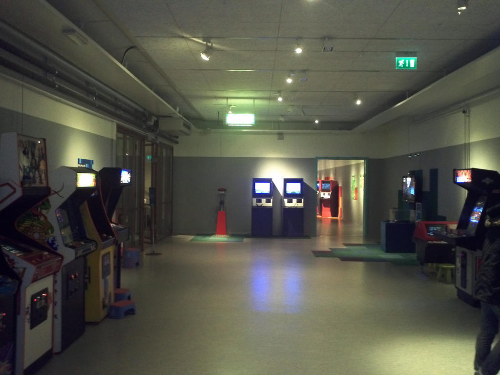 Video game exhibition at Tekniska Museet by EgonEagle