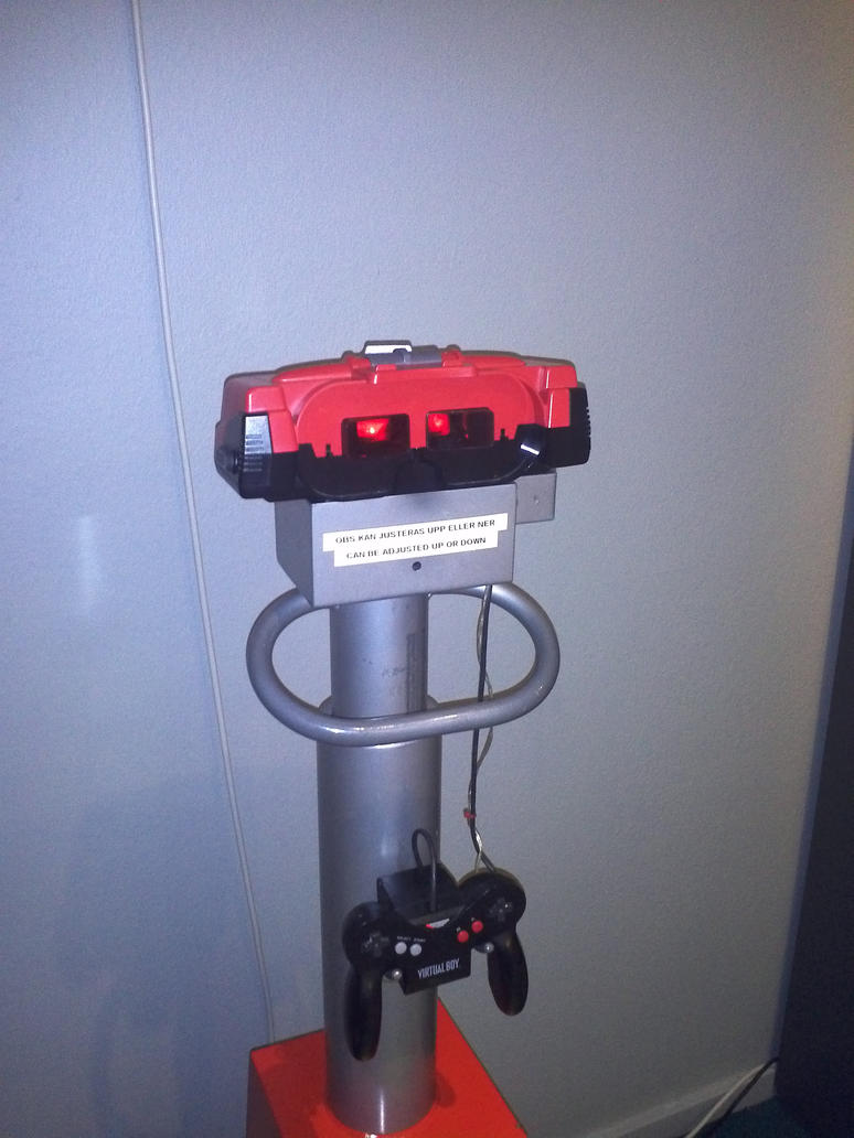 Virtual Boy by EgonEagle