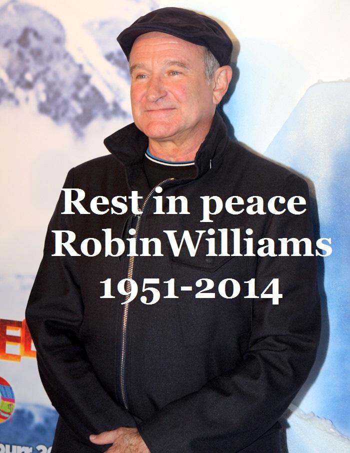 Robin Williams 1951-2014 by EgonEagle