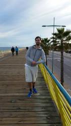 Me at a pier