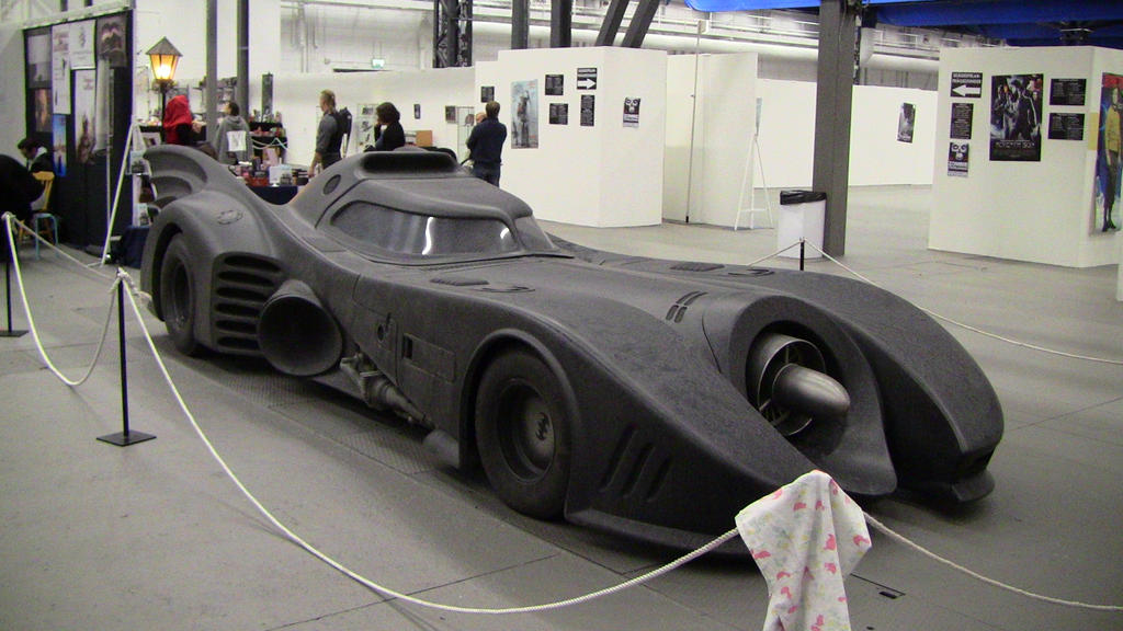 Batmobile (Tim Burton films) by EgonEagle