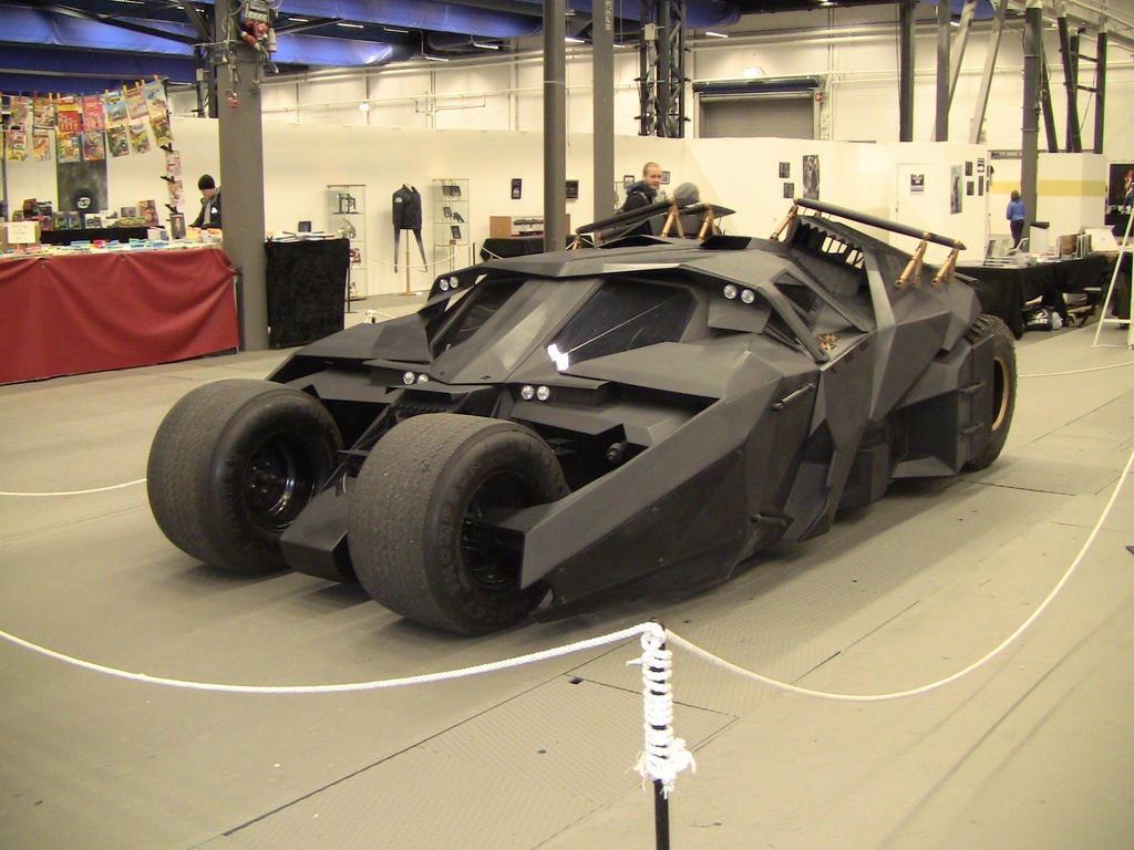 Batmobile (Christopher Nolan films) by EgonEagle
