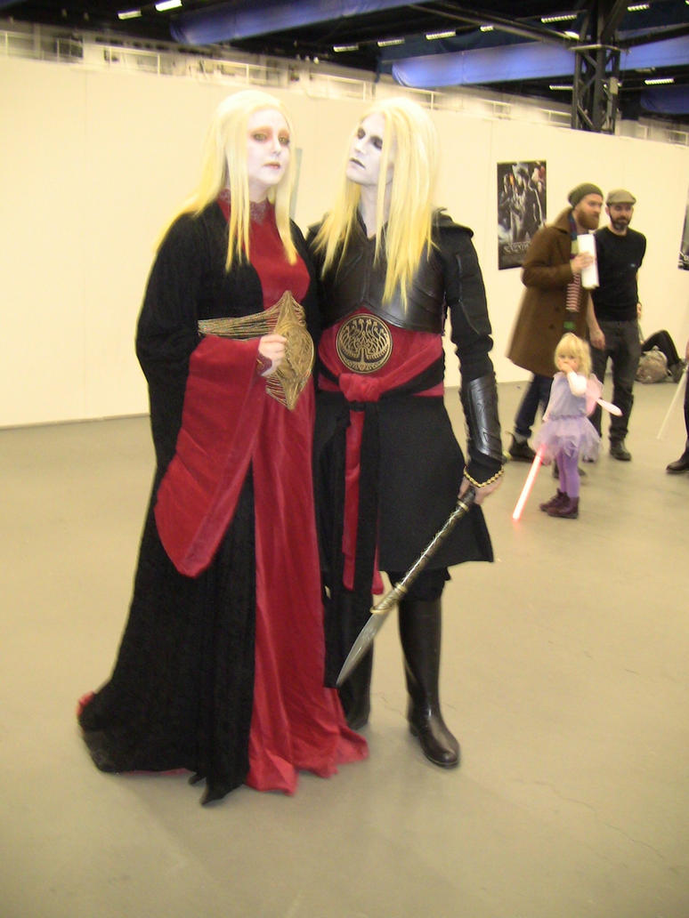 Nuala and Nuada cosplay by EgonEagle