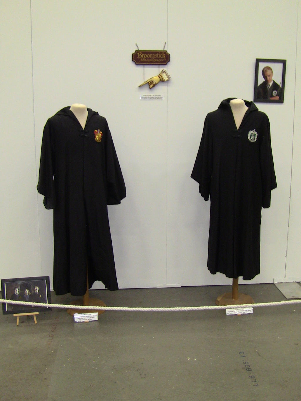 Harry Potter costumes by EgonEagle
