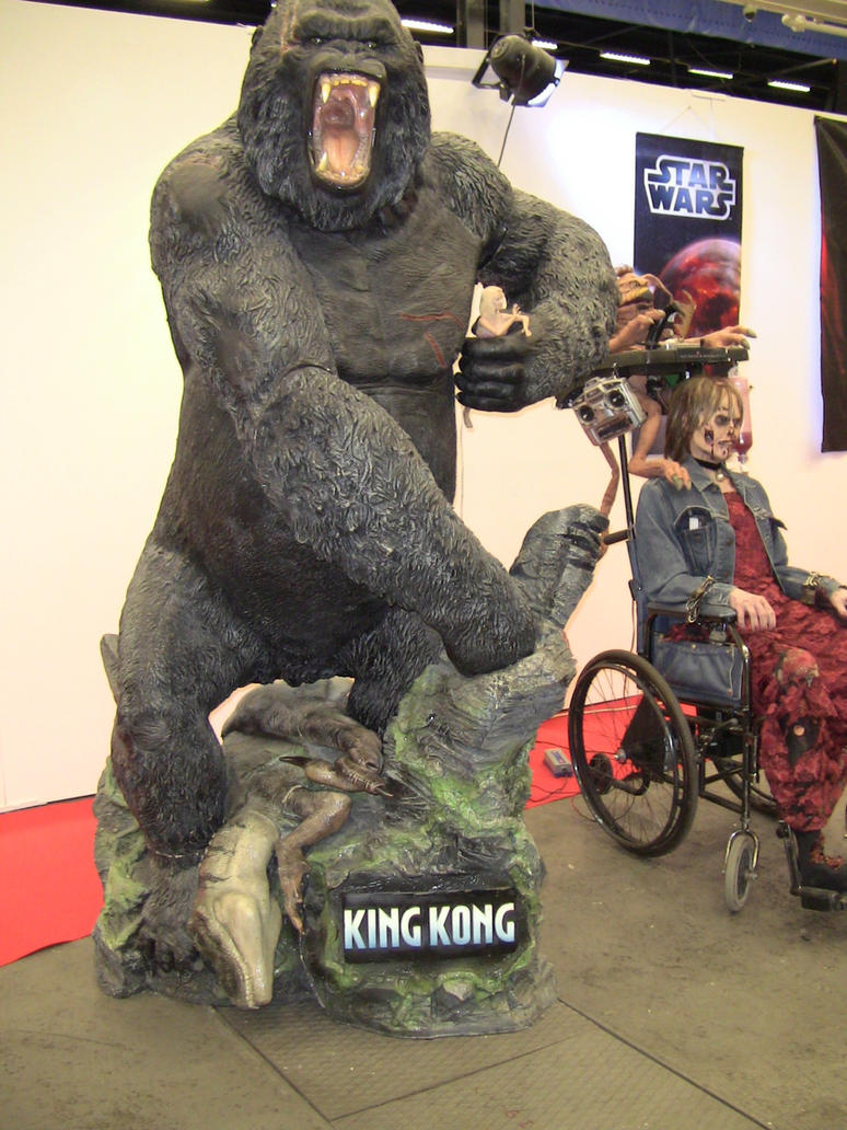 King Kong by EgonEagle