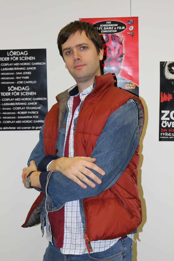 Marty McFly by EgonEagle