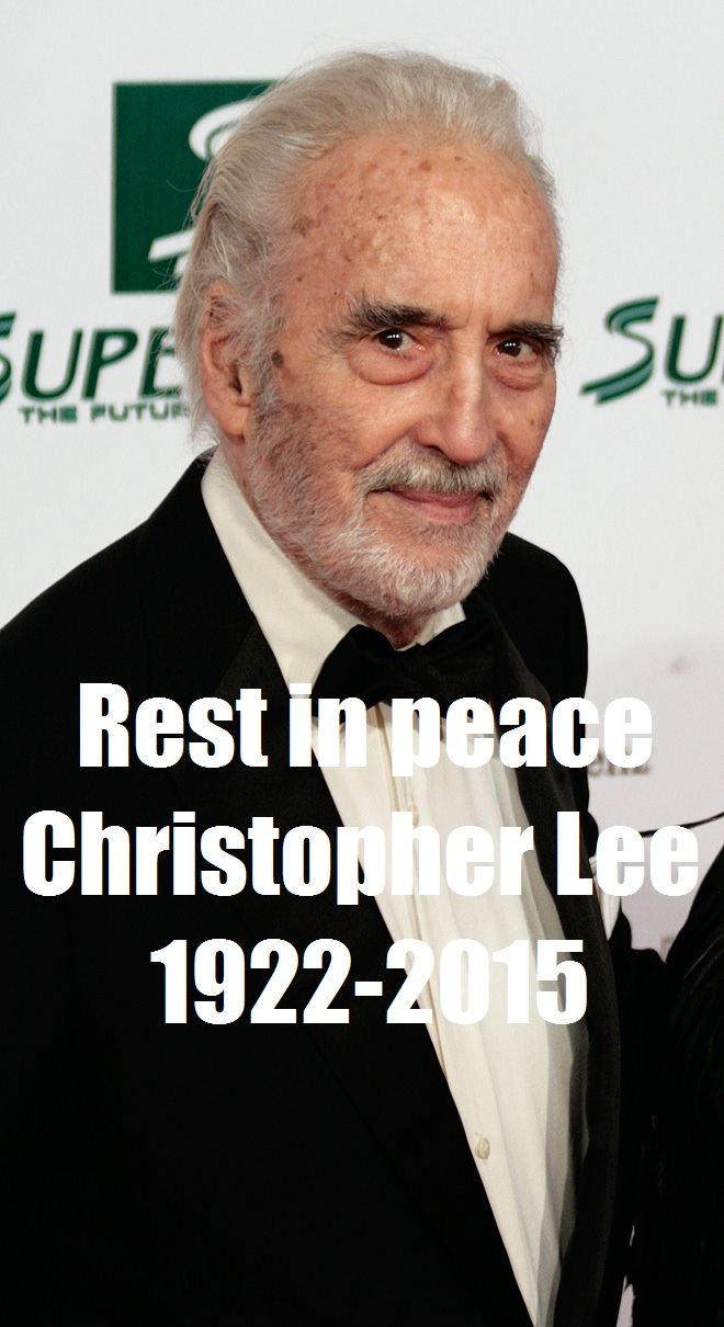 Christopher Lee 1922-2015 by EgonEagle