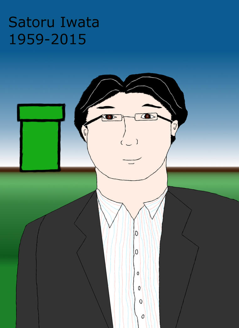 Satoru Iwata by EgonEagle