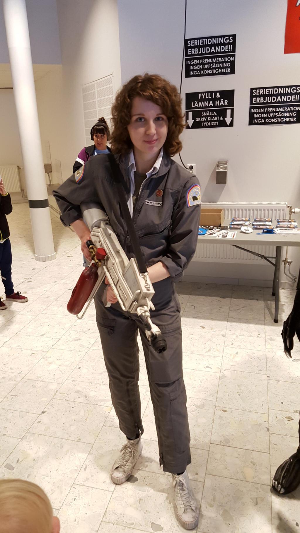 Ellen Ripley by EgonEagle