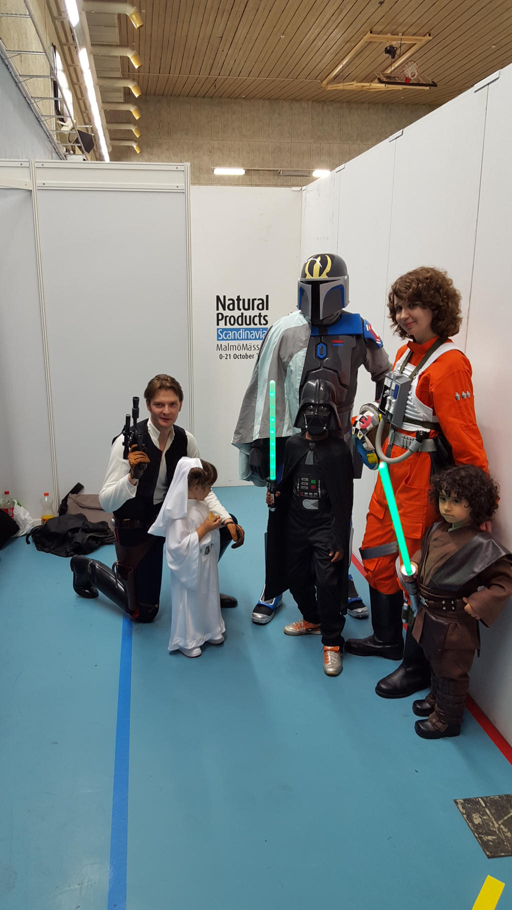 Star Wars cosplay by EgonEagle