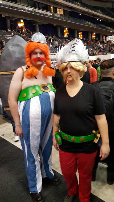 Obelix and Asterix by EgonEagle