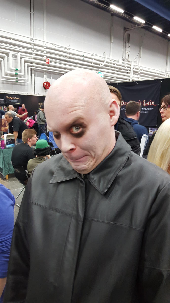 Uncle Fester by EgonEagle