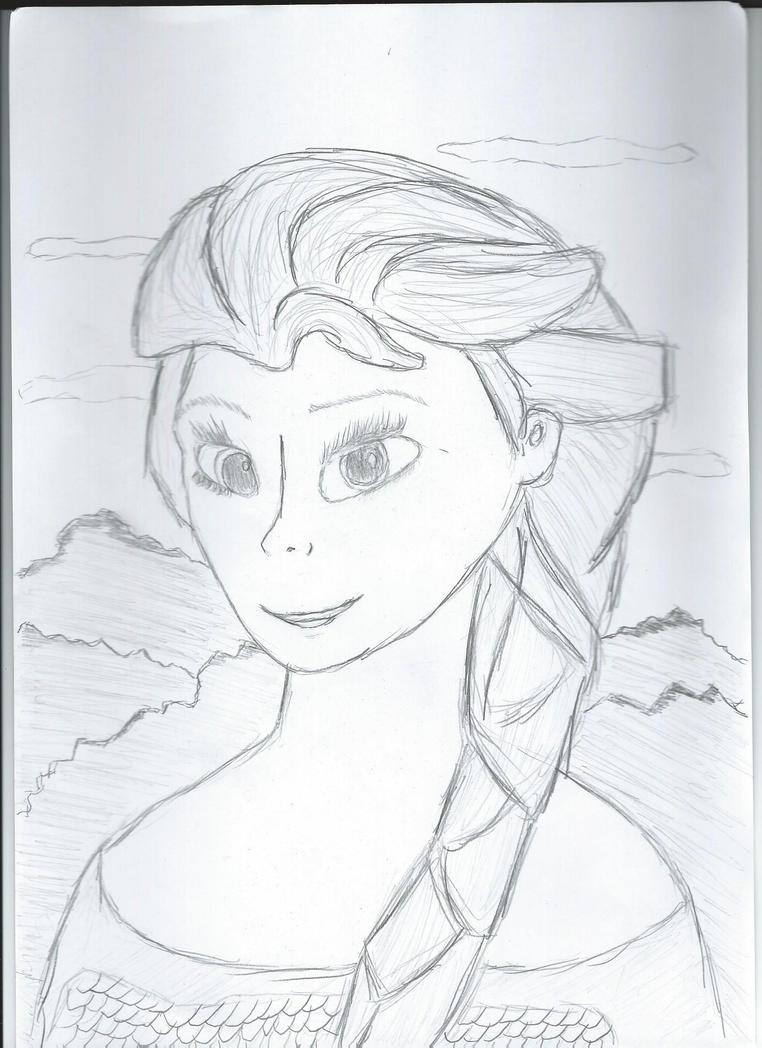 Elsa by EgonEagle