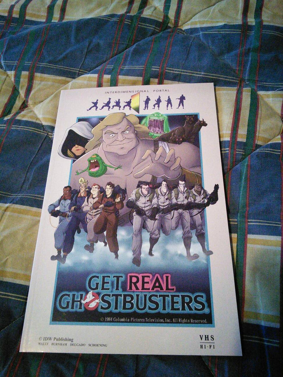 Ghostbusters Get Real by EgonEagle