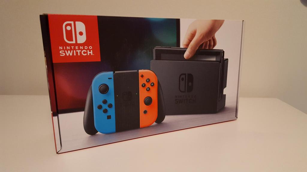 Nintendo Switch by EgonEagle
