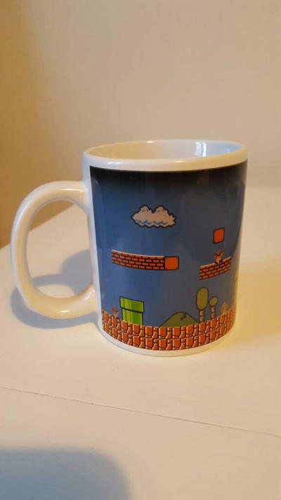 Super Mario Bros. cup by EgonEagle