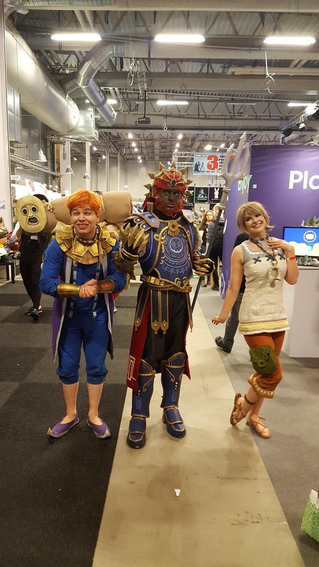 Zelda characters by EgonEagle