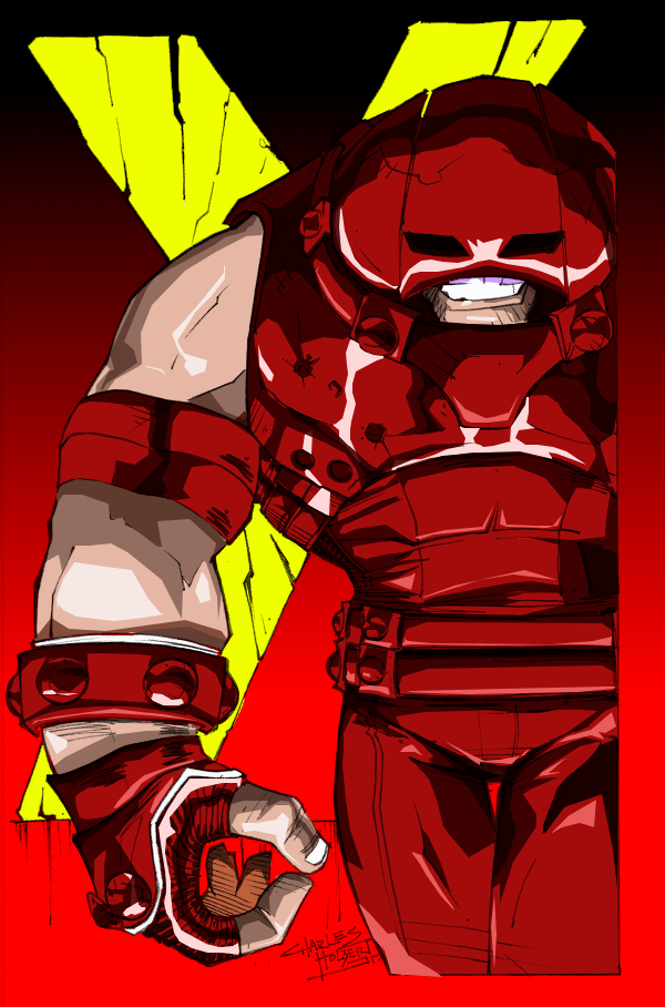 The Juggernaut by Mike-J